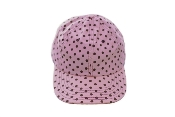 Brown Dots on Pink Cap