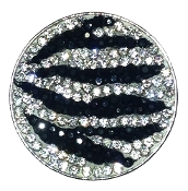 Zebrazz Micro Pave Crystal Ball Marker